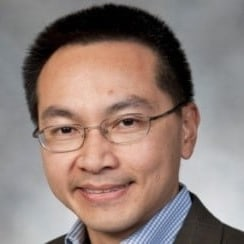 Mike Wong accepts Culture of Inclusion Award