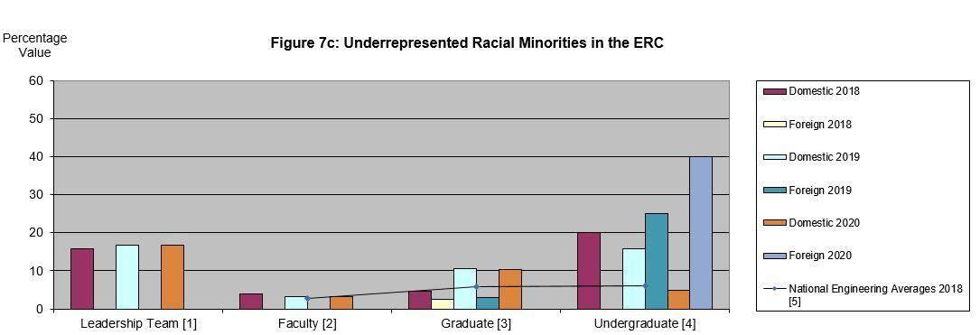 Underrepresented Racial Minorities in the ERC 2020