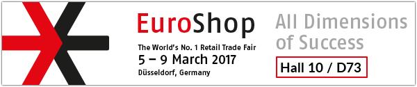 NewTec EuroShop2017 speaker sound system