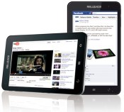 Reliance CDMA TAB- Reliance has launched first cdma tab cum mobile phone in India