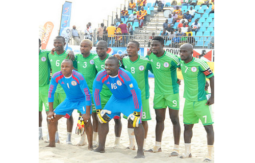 Supersand Eagles off to Bahamas for FIFA World Cup