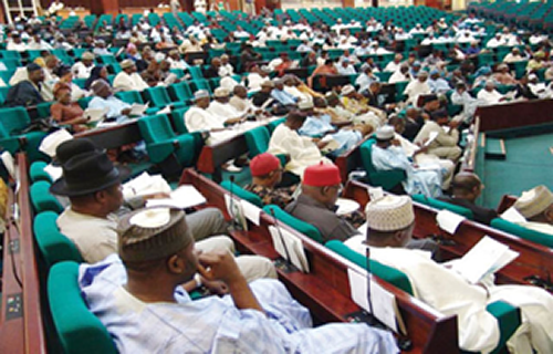 PDP members walk out of plenary as Rep defects to APC