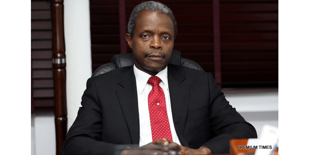 Osinbajo Says FG Working On Creating Easy Business Environment