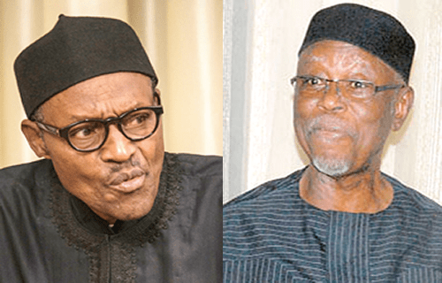 Buhari sympathises with Oyegun over Atiku's defection