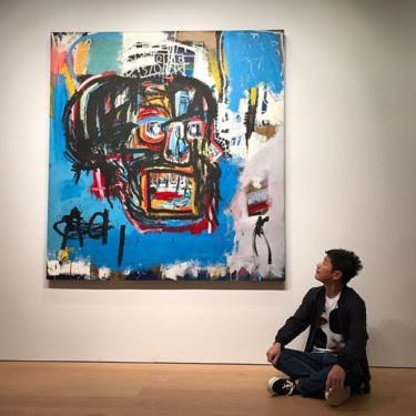 Basquiat painting sells for $110.5m