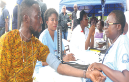 Image result for Free medical services in Mushin