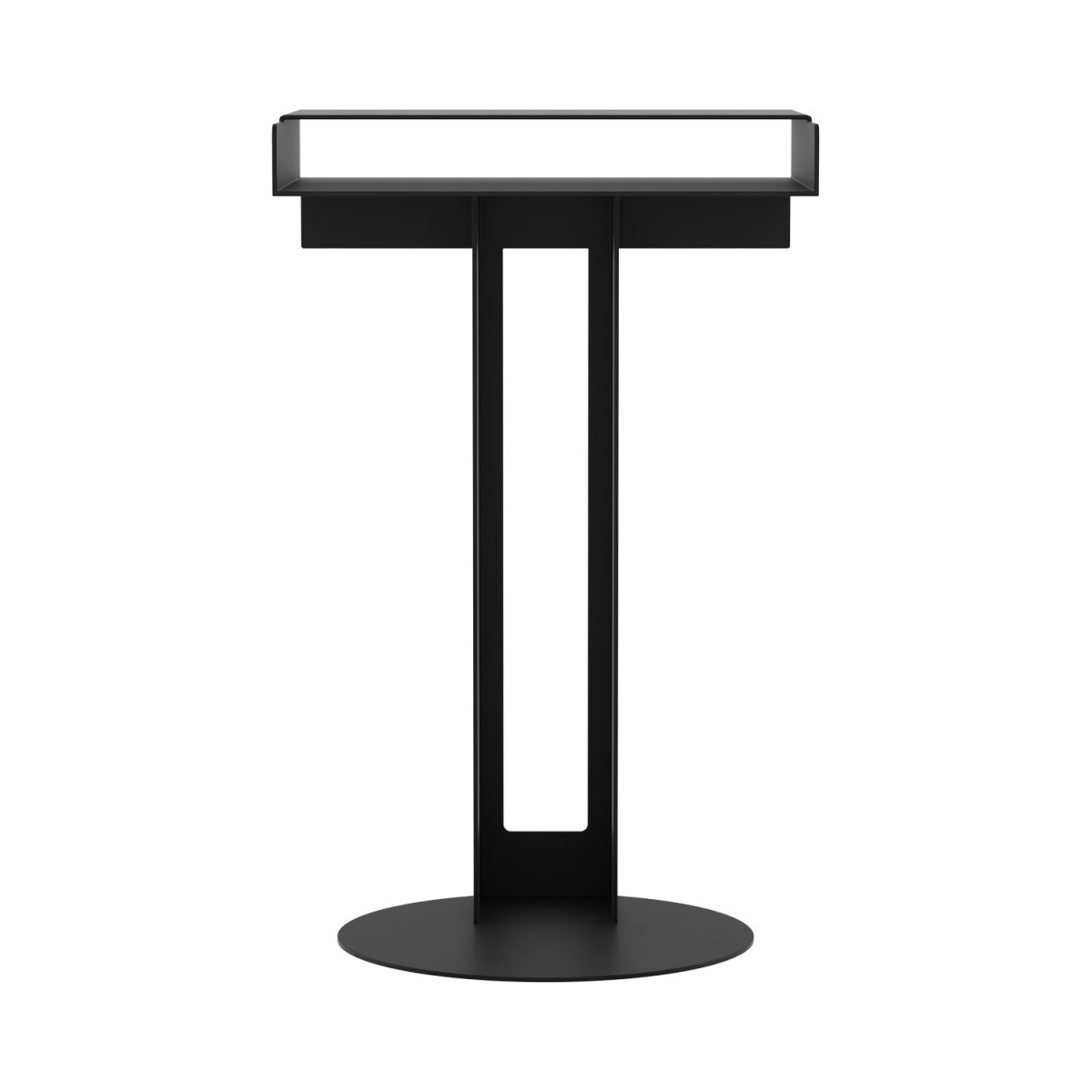 New Tendency Meta Side Table Black