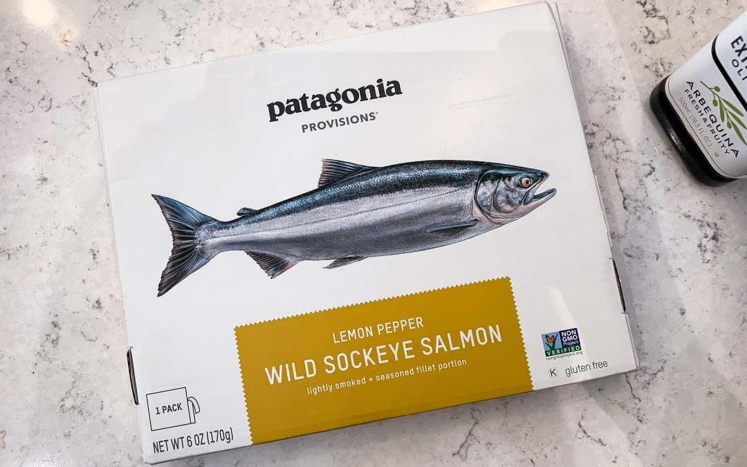 Tasting Patagonia Provisions Wild Salmon