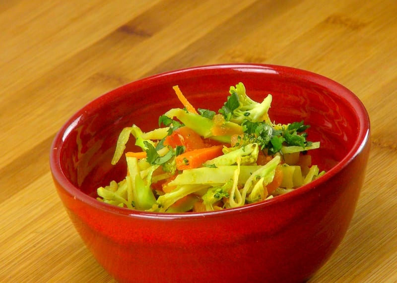 Indian-Style Slaw