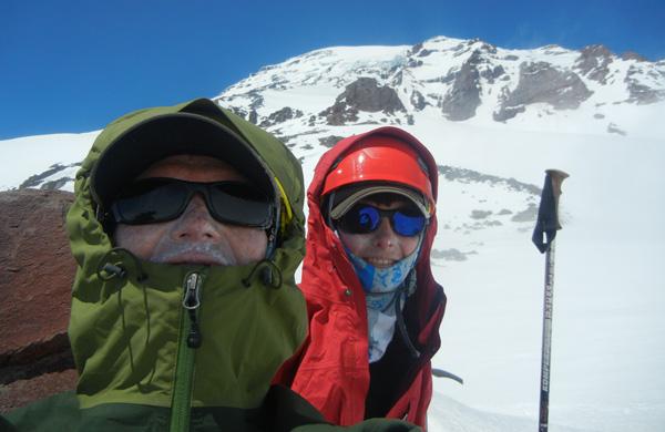 Calvin Heslop, Mt Rainier