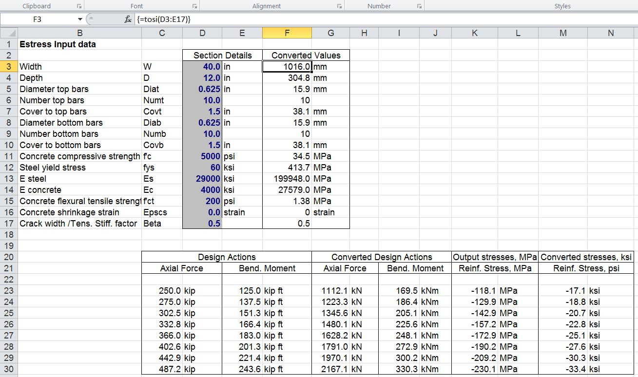 Units For Excel