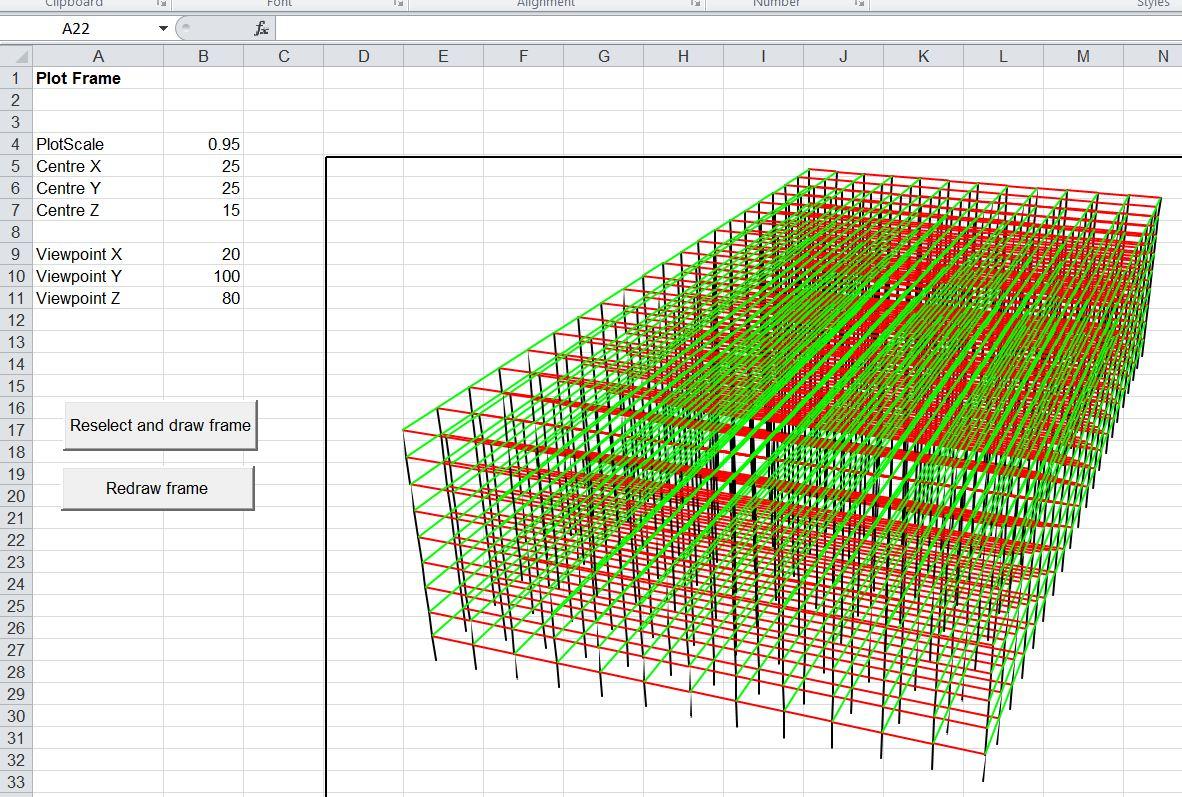 3dframe 3d Frameysis For Excel