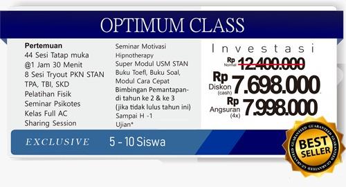 Bimbel PKN STAN terbaik optimum class