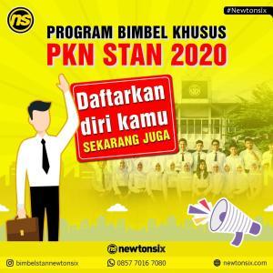 Program Bimbel Newtonsix untuk Persiapan SPMB PKN STAN 2020