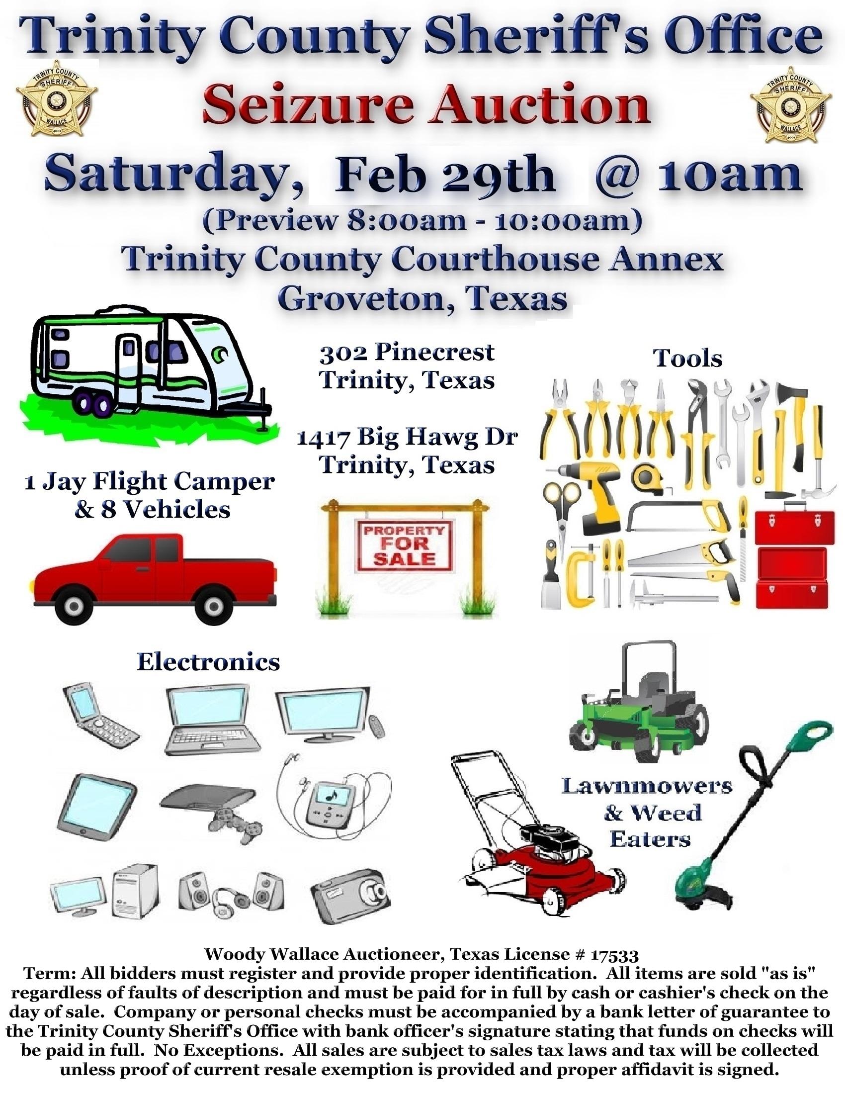Trinity County Texas