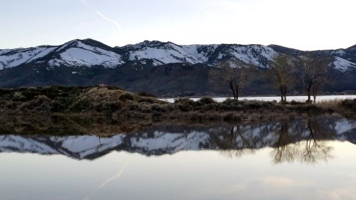 Washoe Lake State Park near Reno, Nevada, NV