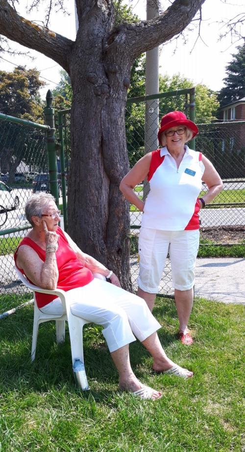 Margaret and Brenda