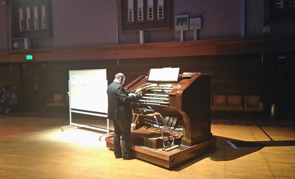 The historic organ.