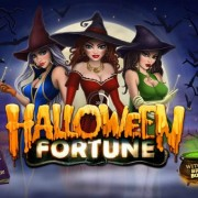 """Halloween Fortune"" Newtown Casino Slot Game"
