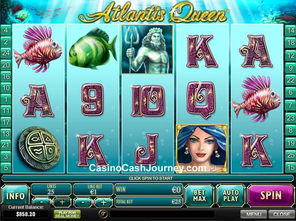 Atlantis Queen Newtown Casino Slot Machine