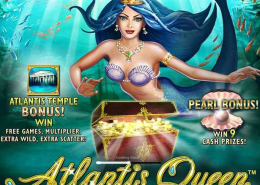 "Play ""Atlantis Queen"" Legendary Newtown Casino Slot Machine!"
