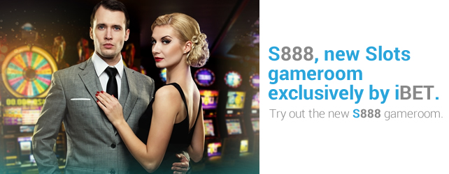 iBET New Slot Gameroom - S888 has opened recently!