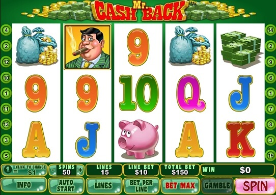 """Mr.Cashback"" Free Game"