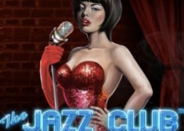 the jazz club slot logo