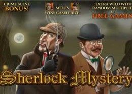 "Newtown Casino Slot Game ""Sherlock Mystery"" !"