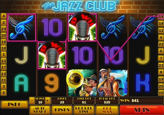 the jazz club slot picture 1