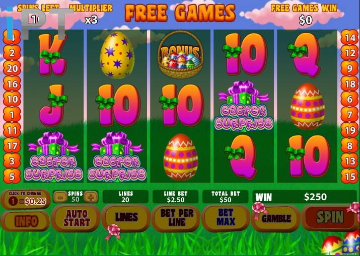 Easter-Surprise-Newtown-Casino-Slot-1