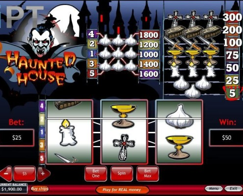 Haunted House Newtown Casino Slot 1