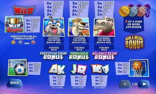 wild games newtown casino slot 2