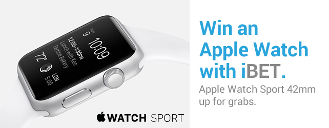 win an apple watch with ibet newtown casino