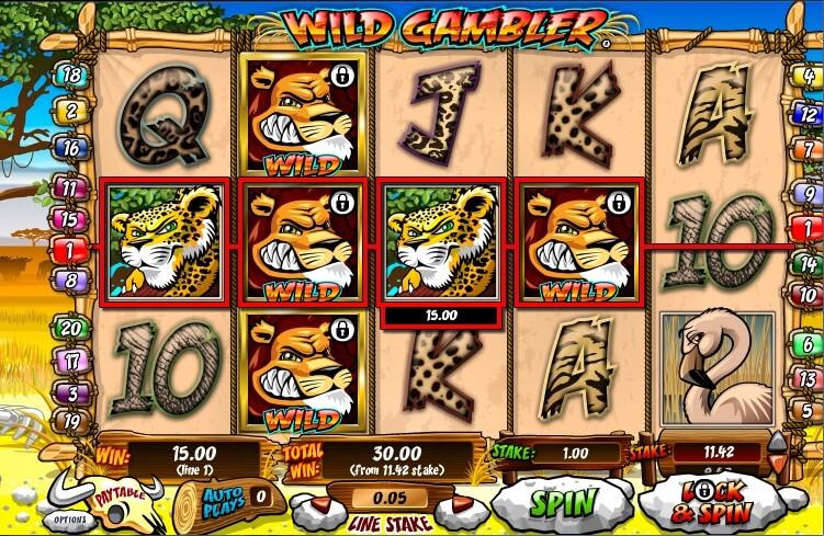 Play Wild Gambler 2 Slot at Casino.com UK