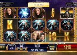 NTC33 – Thor The Mighty Avenger Of Marvel Comics Slot Game
