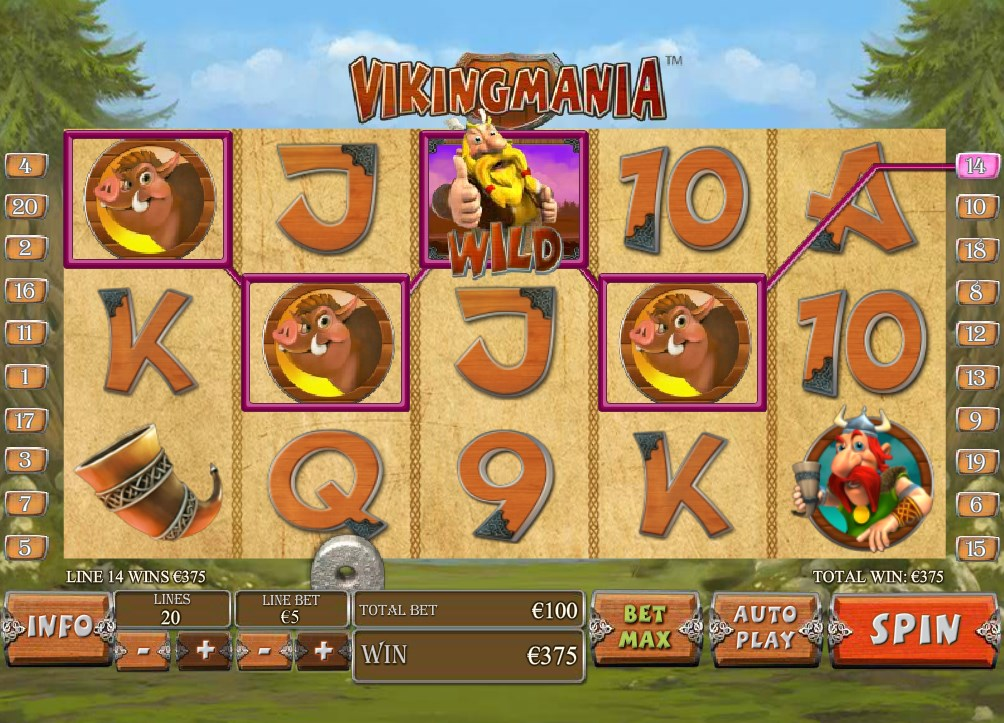 NTC33 Casino Viking Mania Online Slot With the Wild Sea Boy