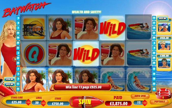 NTC33 Download the 90s Los Angeles show Baywatch Slot Game+
