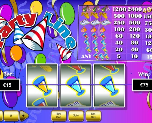 NTC33 - Have fun In Celebration Party Line Slot Game