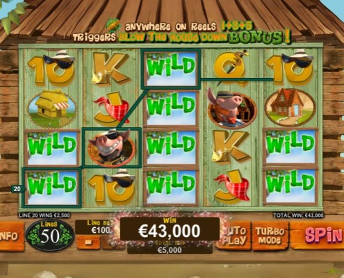 Newtown Malaysia Online Casino Free Credit Piggies and the Wolf Slot2
