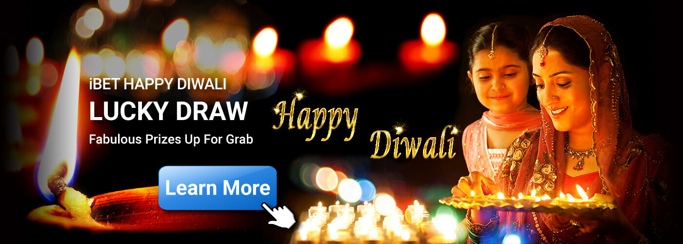 NTC33 Suggest Happy Diwali lucky Draw in iBET