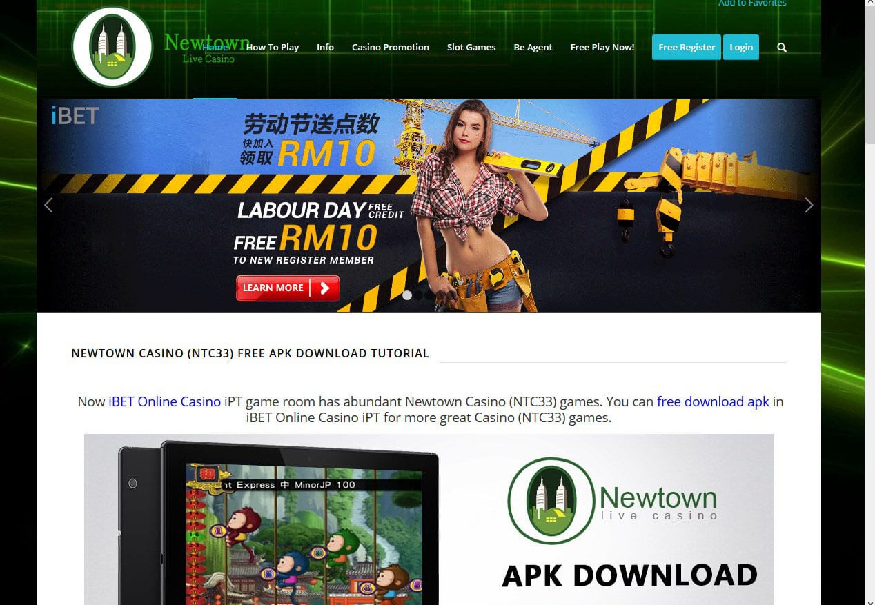 Newtown Casino How To Get Labour Day Free RM10