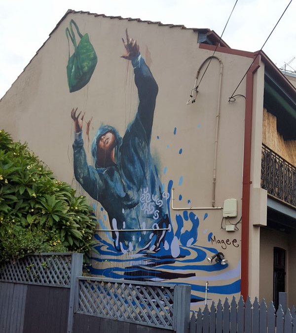 Flood Emergency Supply Drop by Fintan Magee