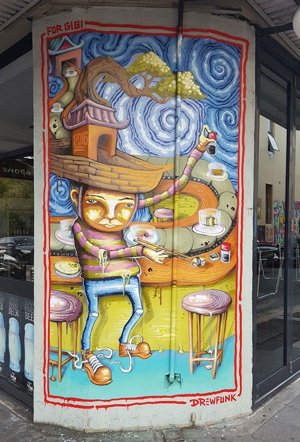 Street Art Mural, Japone Newtown