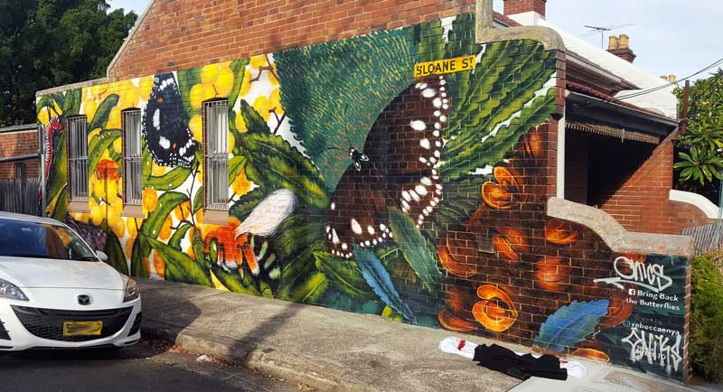 Bring Back The Butterflies – Sloan Street Mural