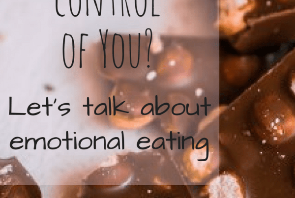 Is food in control of you? or are you in control of food? Let's talk about emotional eating. Claire Marnane, Intuitive Eating Dietitian