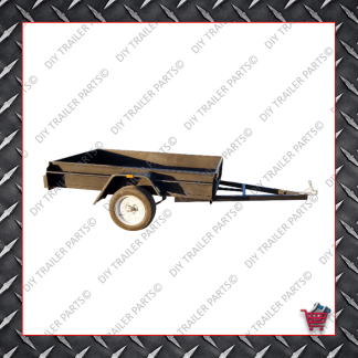 BOX TRAILER - SINGLE AXLE