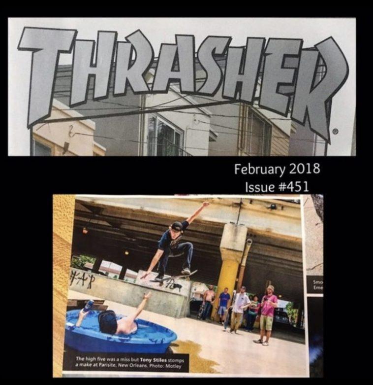 AeroCrafts Clothing in Thrasher Magazine