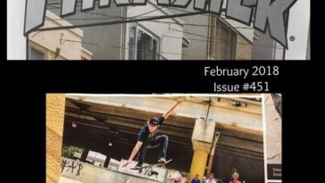 AeroCrafts Clothing in Thrasher Magazine