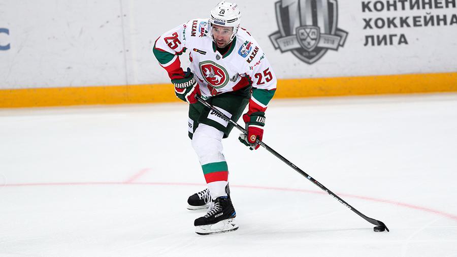 Хоккеист Данис Зарипов продлил контракт с «Ак Барсом»